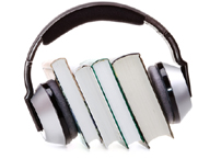 Headset Image with Books